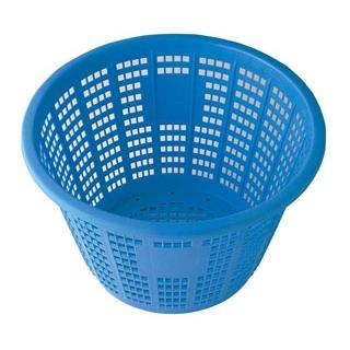 【まとめ買い10個セット品】セキスイ 万能カゴ #18 18L ブルー PE製【 水切り・ザル 】 【ECJ】