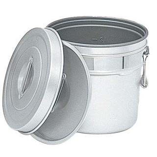 【まとめ買い10個セット品】 【業務用】アルマイト 段付二重食缶(内側超硬質ハードコート)245-I 6L 【20P05Dec15】