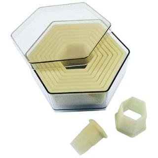 【まとめ買い10個セット品】 【業務用】デバイヤー 樹脂製パテ抜 六角 9pcsセット 4304.40