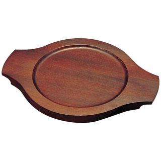 【まとめ買い10個セット品】 【業務用】パエリア鍋用木台 EB-3673 22cm用