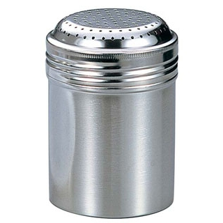 【まとめ買い10個セット品】IK 18-8 シュガーシェーカー缶 大 φ72×H104【 調味料入 】 【ECJ】