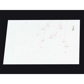 【まとめ買い10個セット品】四季紙 萬寿(100枚入)M33-110 しだれ桜【 料理演出用品 】 【ECJ】
