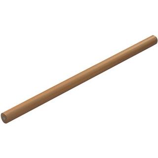 【まとめ買い10個セット品】 【業務用】アルミ テフロン パイプ型 麺棒 45cm
