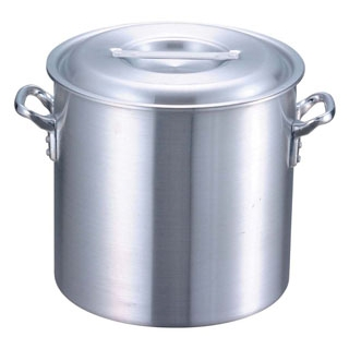 【まとめ買い10個セット品】 【業務用】EBM アルミ プロシェフ 電磁 寸胴鍋(目盛付)21cm