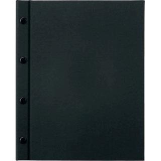 【まとめ買い10個セット品】 【業務用】えいむ ホック式クロスメニューブック HB-301 ブラック