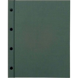 【まとめ買い10個セット品】 【業務用】えいむ ホック式クロスメニューブック HB-301 グリーン