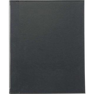 【まとめ買い10個セット品】 【業務用】えいむ ホック式合皮メニューブック HB-601 ブラック
