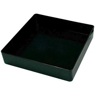 【まとめ買い10個セット品】プラ容器 飛鳥 本体(5枚入)8寸 黒【 厨房消耗品 】 【ECJ】