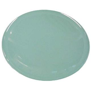 【まとめ買い10個セット品】 【業務用】プラ容器 高台皿(5枚入)8寸 青磁