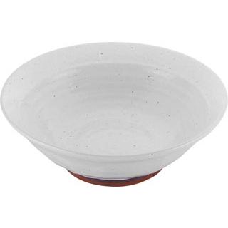【まとめ買い10個セット品】 【業務用】モダンホワイト ラーメン丼 8寸(φ245)