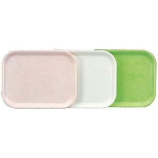 【まとめ買い10個セット品】長手盆 H-3500 グリーン FRP樹脂【 カフェ・サービス用品・トレー 】 【ECJ】
