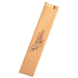【まとめ買い10個セット品】 【業務用】紙製 フランスパン袋(100枚入)HD-5 中