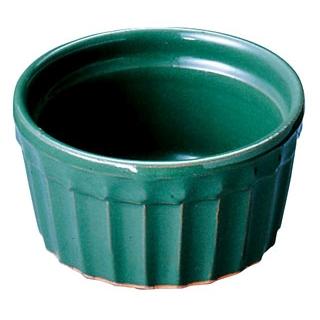 【まとめ買い10個セット品】 【業務用】ヴァルカーニャ スフレ 16cm VL-016 グリーン 陶器