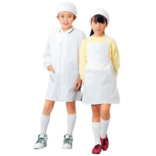 【まとめ買い10個セット品】学童給食衣エプロン型 SKV362 3L【 ユニフォーム 】 【ECJ】