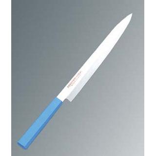 【まとめ買い10個セット品】 【業務用】マスターコック 抗菌カラー庖丁 柳刃 MCYK300 ブルー
