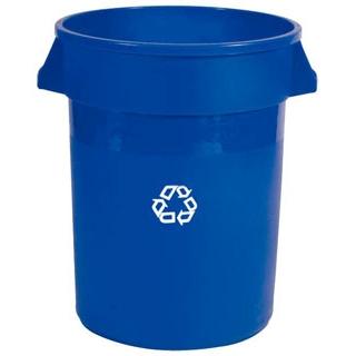 【まとめ買い10個セット品】 【業務用】ブルート・リサイクルコンテナー 2620-73 ブルー 76L