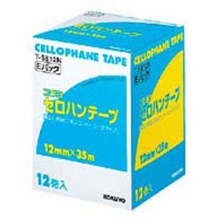【まとめ買い10個セット品】コクヨ セロハンテープ T-SE12N(12巻入)【 店舗備品・防災用品 】 【ECJ】