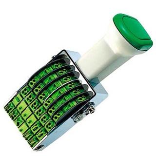 【まとめ買い10個セット品】 【業務用】コクヨ 回転印 IS-D4N 欧文日付4号 明朝体