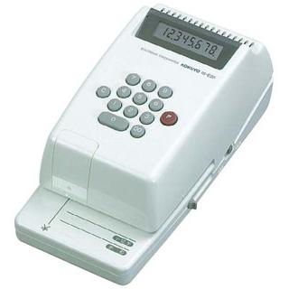 【まとめ買い10個セット品】 【業務用】コクヨ 電子チェックライター IS-E20 印字桁数8桁