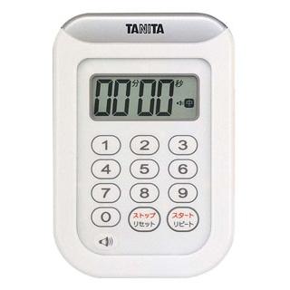 【まとめ買い10個セット品】 【業務用】タニタ 丸洗いタイマー 100分計 TD-378 ホワイト