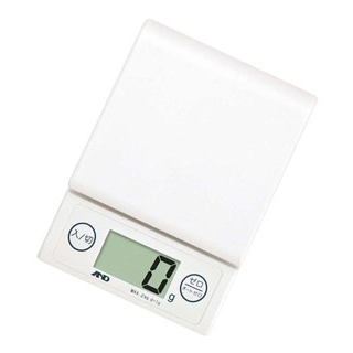 【まとめ買い10個セット品】 【業務用】A&D ホームスケール 2kg UH-3303-W ホワイト