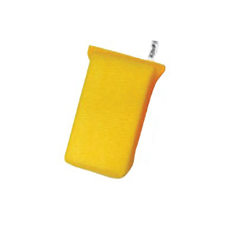 【まとめ買い10個セット品】 3M スコッチブライト 高耐久ネットスポンジ 薄手 No.9300(10個パック)キイロ 【ECJ】【 清掃・衛生用品 】