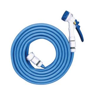 【まとめ買い10個セット品】 Gノズル付カットホース 8m H9MB-8GNF 【ECJ】【 清掃・衛生用品 】