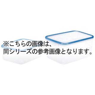【まとめ買い10個セット品】 パッセハード シール容器 WJ-1 クリアブルー 【ECJ】【 ストックポット・保存容器 】