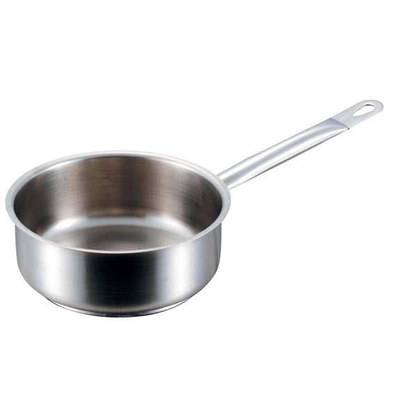 パデルノ 浅型片手鍋(蓋無)1008-36cm 電磁 【ECJ】