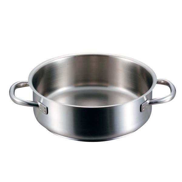 パデルノ 外輪鍋(蓋無)1009-40cm 電磁 【ECJ】【 IH・ガス兼用鍋 】