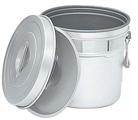 アルマイト 段付二重食缶(内側超硬質ハードコート)249-I 14L 【ECJ】【 運搬・ケータリング 】
