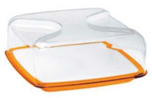 グッチーニ カッティングボード&ドーム 正方形(L)270000 45オレンジ 【ECJ】【 オーブンウェア 】