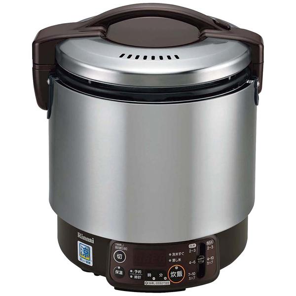 リンナイ タイマー付卓上型炊飯器 涼厨 RR-S100VMT LP 【ECJ】炊飯器・スープジャー