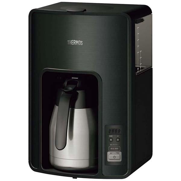 サーモス 真空断熱ポット コーヒーメーカー ECH-1001(BK) 【ECJ】カフェ・サービス用品・トレー
