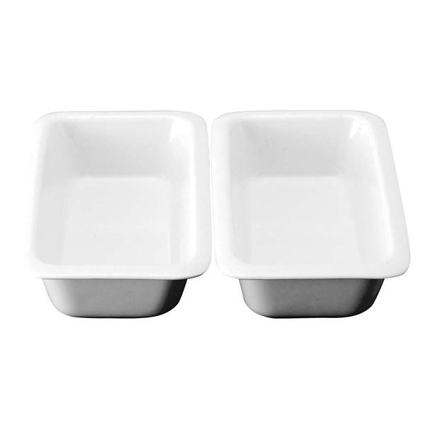 スマートチューフィング専用陶器 角型 1/2 2分割セット JW-600×2 【ECJ】ビュッフェ関連