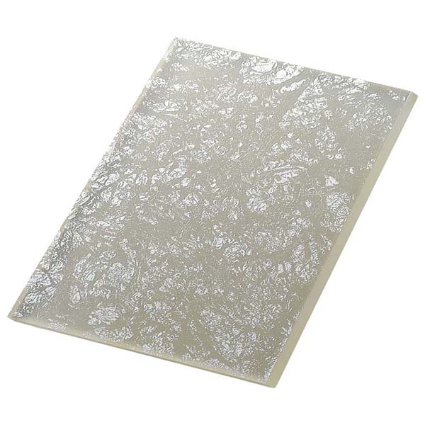 ライクガラス レクタングルプレート 銀箔 1202337 【ECJ】和・洋・中 食器