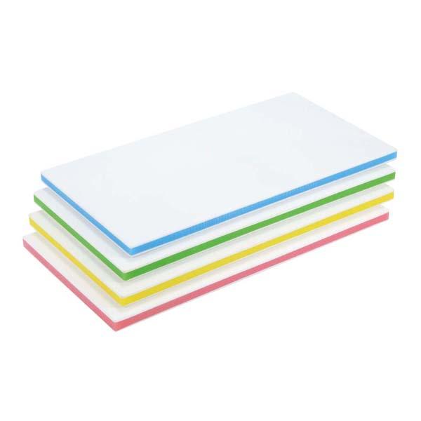 ポリエチレン抗菌カラーまな板 CKG-20MM(720×330×20)グリーン 【ECJ】まな板