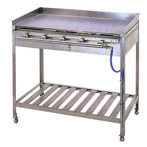 IT ガス グリドル スタンド付 TYH900 【ECJ】お好み焼・たこ焼・鉄板焼関連