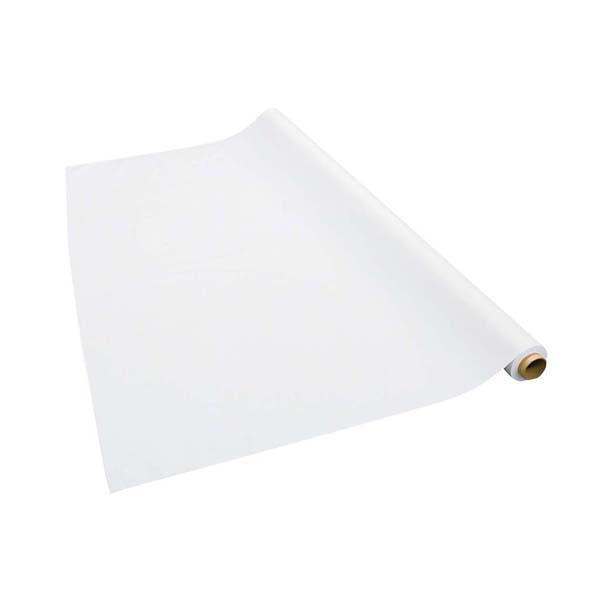 テーブルクロス 梨地無地 ホワイト 137cm×30m巻 厚み0.15mm 【ECJ】店舗備品・インテリア