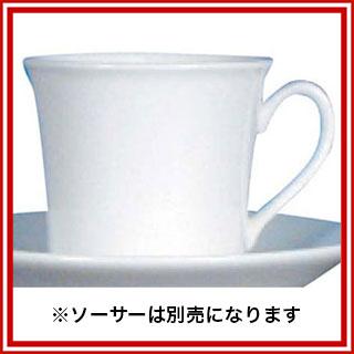 【まとめ買い10個セット品】 【業務用】W・W ホワイトコノート デミタスカップ デルフィ 53610004965