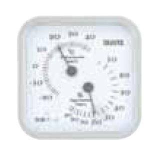 【まとめ買い10個セット品】温湿度計 TT-557 グレー