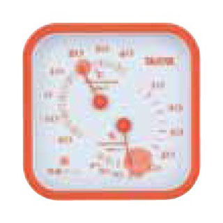 【まとめ買い10個セット品】温湿度計 TT-557 オレンジ