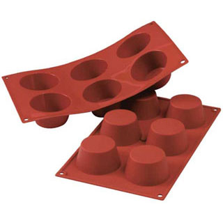 【まとめ買い10個セット品】SF023 ミディアムマフィン 6ヶ取 】【 厨房器具 製菓道具 おしゃれ 飲食店 】 【ECJ】