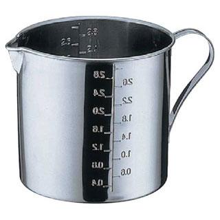 【まとめ買い10個セット品】【業務用】18-8 口付計量カップ 10cm[0.7]【 メジャーカップ 計量カップ 】