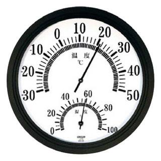 【まとめ買い10個セット品】【業務用】【 温湿度計 CR-221W 】 【 業務用厨房機器 カタログ掲載 プロ仕様 】