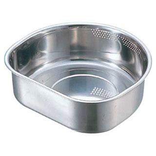 【まとめ買い10個セット品】【業務用】【 洗い桶 ステンレス 30cm 】【 18-8 D型水切孔付洗桶 30cm 】