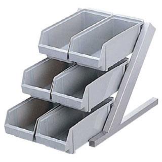 【業務用】【 オーガナイザー3段2列 ENDO ブラウン ENDO 】 【 業務用厨房機器 カタログ掲載 プロ仕様 】 【 送料無料 】