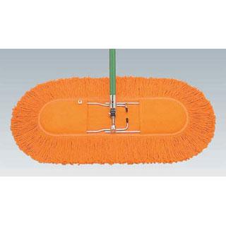 【まとめ買い10個セット品】【業務用】ジムモップハンドル(糸なし) 40cm