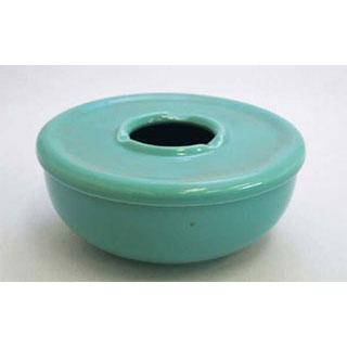 【まとめ買い10個セット品】【業務用】【 陶器 トルコ青蓋付灰皿 大 】