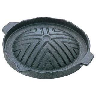 【まとめ買い10個セット品】【業務用】アルミ1人用ジンギスカン鍋 [フッ素加工]